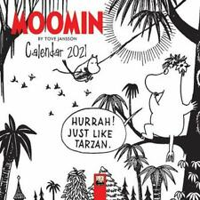 Moomin by Tove Jansson Mini Wall calendar 2021 (Art Calendar) by Flame Tree Stu