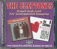 The Cleftones - Heart And Soul / For Sentimental Reasons 2 On 1 Cd Perfetto