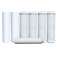 Watts 7-PK RO Filters Premier 500024 Compatible 1 year 5 Stage Replacements