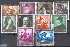 Spain Edifil # 1210/1219 ** MNH Set. Goya pintura / painters