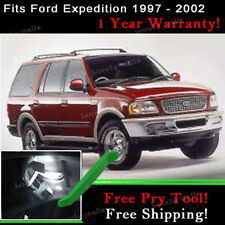 15X 6000K White LED Interior Light Package For Ford Expedition 1997 - 2002 J2