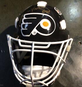 Eric Lindros Signed Mini Mask JSA COA - Philadelphia Flyers