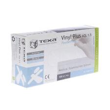 Texa Gants Vinyl Plus non poudré M 100p