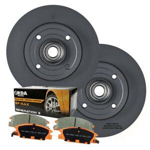 REAR DISC BRAKE ROTORS + PADS for Peugeot 308 SW SE 1.6T 1.6TD *267mm* 2007 on