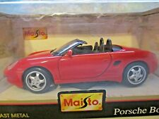 Maisto 1996 Red Porsche Boxter 1:24 scale Special Edition   New Unopened Box