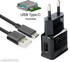CARICABATTERIE da Parete CONNESSIONE USB Type C SMARTPHONE LENOVO ZUK Z1 Z2/PRO