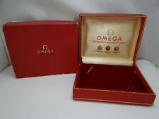 Omega Watch Box, Inner and Outer, Vintage 1960's