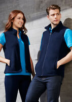 Biz Collection Ladies Trinity Vest Low Pill Micro Fleece Contemporary Fit Modern