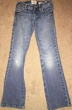 Old Navy Jeans Girls Size 7 Distressed Knees