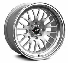 XXR 531 16x8 4x100,4x114.3 20et Hyper Silver Machined Lip Wheels Rims