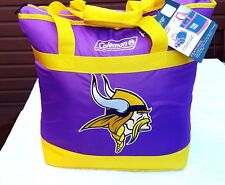 MINNESOTA VIKINGS COOLER X-LARGE SIZE BAG TOTE INSULATED FOR HOT/COLD COLEMAN
