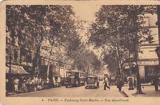 PARIS faubourg saint-martin rue alex parodi bar tabac autobus
