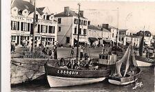 saint gilles sur vie  bateaux a quai