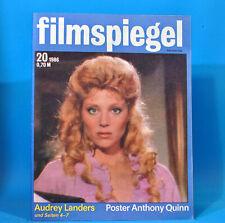 DDR Filmspiegel 20/1986 Audrey Landers Anthony Quinn Uwe Ochsenknecht Kurt Böwe