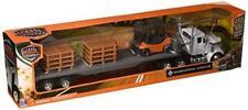New Ray 16643 Newray 1: 43 Long Haul Trucker - International Lonestar Flatbed