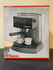 Saeco Gran Crema Espresso Machine SIN 010 - New in Box