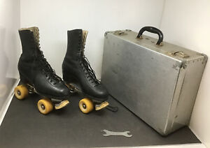 GLORIA NORD Styled by HYDE Roller Skates Mens 9 Cleveland Skate 200 W/ Case