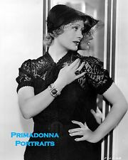 """DOLORES COSTELLO 8X10 Lab Photo 1936 """"FOR THE ASKING"""" HOEFFER Emerald Jewelry"""