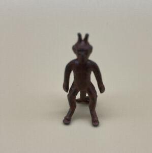 VINTAGE Old Metal Miniature Stand Up DEVIL Cracker Jack~Toy~Prize~Premium