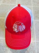 Red WINTERHAWKS Hockey Team Snapback HAT Mesh Trucker Portland Embroidered WHL