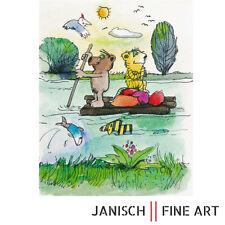 """JANOSCH - """"Das Floss nach Budapest"""", handsigniert, Auflage 99, 2013 !"""