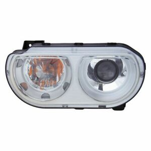 Left LH Headlamp Assembly Xenon Without HID Kits fits 2008 2014 Dodge Challenger