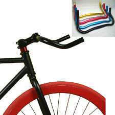25.4mm 37cm Bullhorn Riser Bar for Fixed Gear Bike Bicycle Alloy Handlebar B121