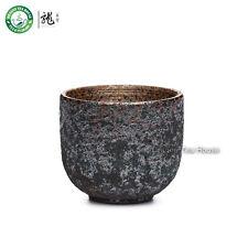 Handmade Wood-Fired Ceramic Teacup Chinese Gongfu Kung Fu Tea Cup 60ml 2.02oz