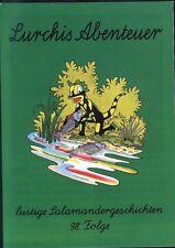 Lurchis Abenteuer lustige Salamandergeschichten 98.Folge von 1994 Werbecomic TOP