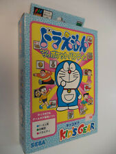 DORAEMON WAKUWAKU POCKET PARADISE gg KIDS GEAR Sega Game Gear Brand New