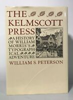 Kelmscott Press A History William Morrison typography