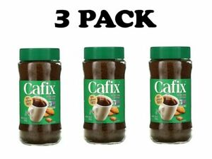 Cafix, 3 PACK, All Natural Instant Beverage Crystals, Caffeine Free, 7.05 oz