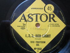 "1910 Fruitgum Company 1 2 3 Red Light 45 7"" single vinyl record"