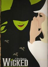 "Idina Menzel & Kristin Chenoweth   ""Wicked""   Broadway  Souvenir  Program  2003"