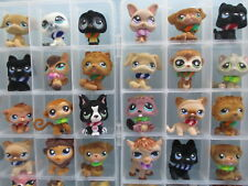 Littlest Pet Shop Lot of 3 RANDOM SURPRISE Fuzzy Fluffy Dog Cat Bunny BLEMISHED