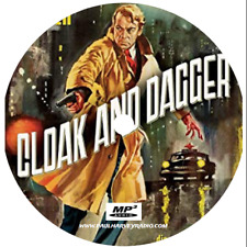 CLOAK AND DAGGER (22 SHOWS) OLD TIME RADIO MP3 CD