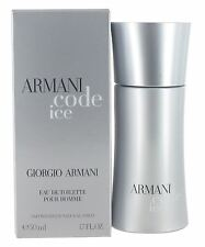 Giorgio Armani Code Ice 50ml Eau de Toilette Spray for Men - New
