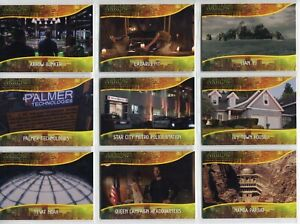 Arrow Season 4 Complete 9 Card Chase Set Locations