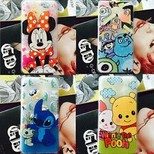Cartoon Disney Minnie Stitch Silicone Gel TPU Soft Case Cover For Cell Phones