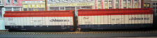 ATHEARN - JOHNSON WAX - 50 FT BOX CARS - J.W.A.X. 49327 & J.W.A.X. 49367 - HO