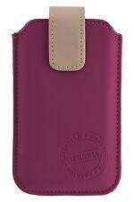 URBAN STYLE  Trend Case Handy Tasche Magenta Beige Gr. XXL Apple iPhone 7 & 8