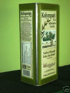 KOLYMPARI EXTRA NATIVES OLIVENÖL 2x 5L. AUS KRETA