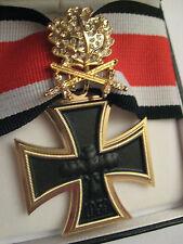 Ritterkreuz EK Gold Brillanten Eichenlaub Schwertern Luftwaffe Jagdstaffel WW II