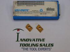 CDEW-322.42 L Carbide Milling Insert Grade V1N Valenite Brand 10pcs