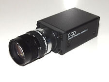 Sony CCD Video Camera Modulo xc-75ce dc10, 5-15v obiettivo COSMICAR/Pentax TV lens