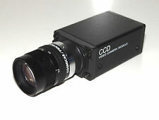 Sony CCD video camera módulo xc-75ce dc10, 5-15v objetivamente Cosmicar/Pentax TV lens