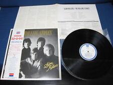 Rolling Stones Slow Rollers Japan Promo Label Vinyl LP with OBI Mick Jagger
