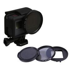 52mm CPL Filter Circular Polarizer + Lens Cap for GoPro Hero 6/5 Black Camera