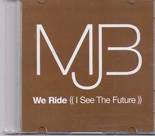 Mary J Blige-We Ride promo cd single