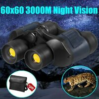 60x60 Binoculars Telescope Night Vision High Definition Travel Hunting Outdoor